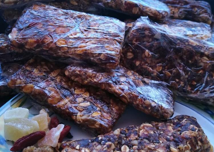 barritas energeticas chocolate caseras