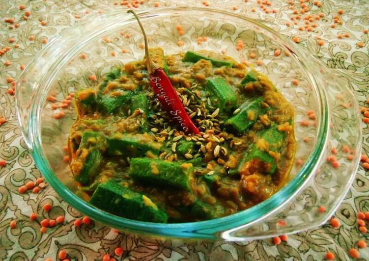 Okra(Lady finger) with DaL(Lentil) Curry Choosing Fast Food That's Very good For You