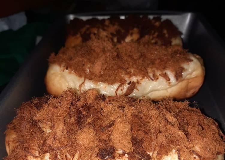 Roti Abon (Floss bread)