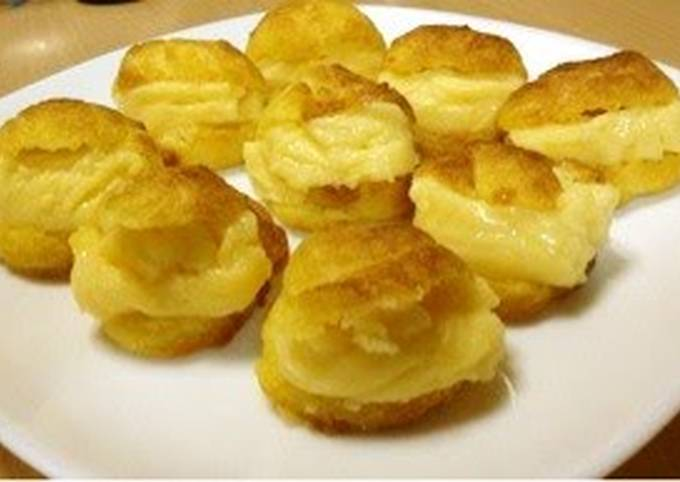 Cream Puffs in a Toaster Oven