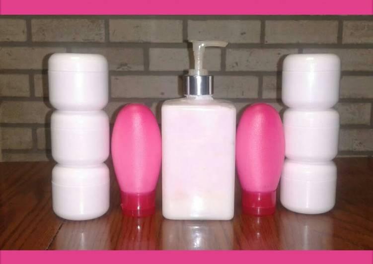 Recipe of Super Quick Homemade hand renewel lotion