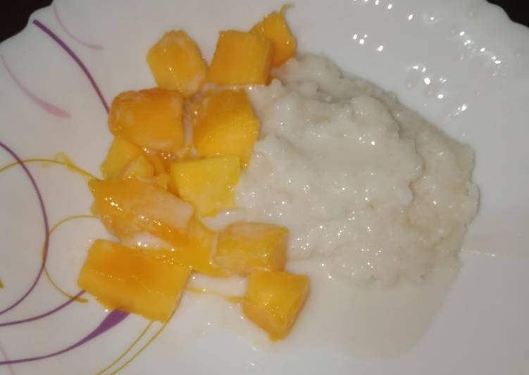 How to Prepare Quick Mango Sticky Rice
