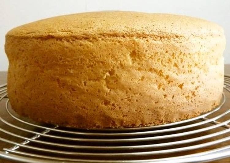 Simple Way to Make Speedy Standard Spongecake - No Butter Necessary
