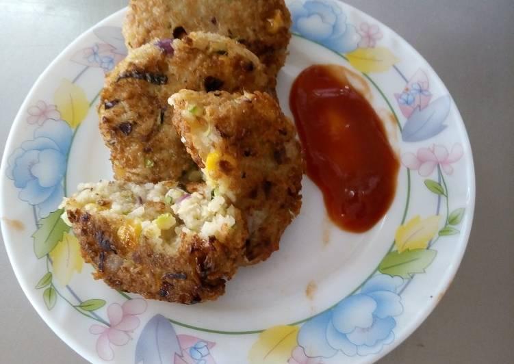 Rice and zucchini patties