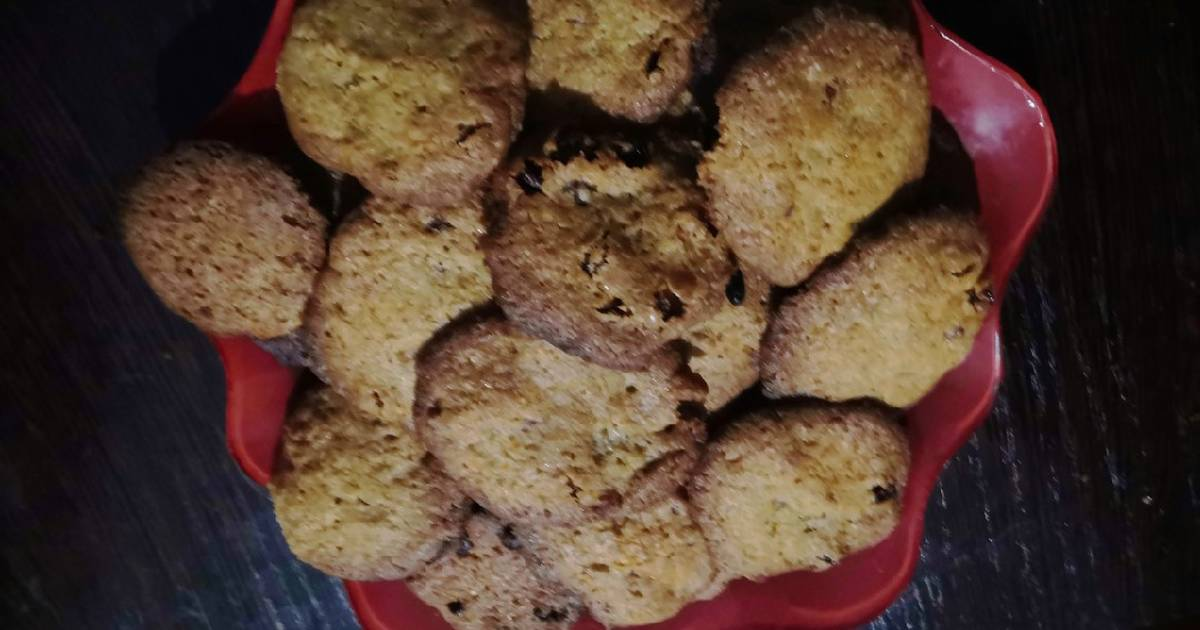 Овсяное печенье без муки рецепт с фото