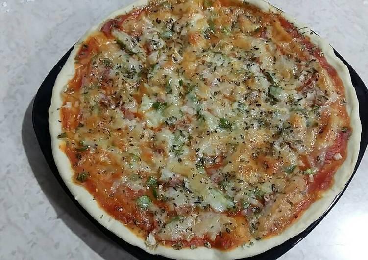 como hacer masa de pizza con cerveza sin levadura