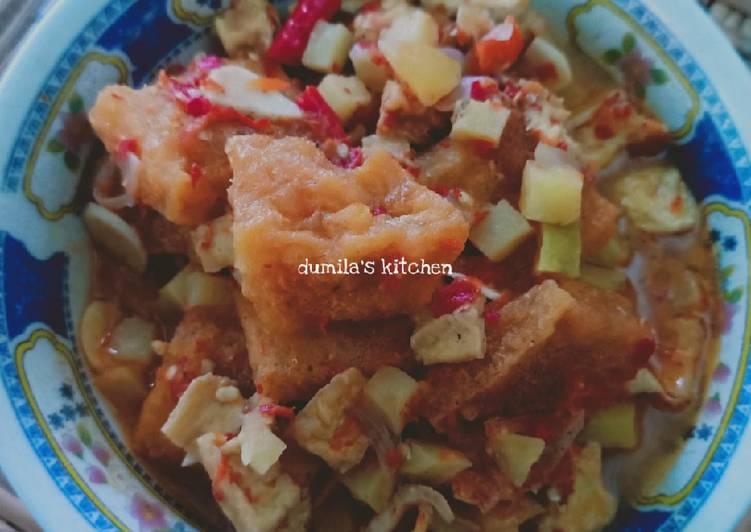 67. Sambal goreng kentang tahu & krecek