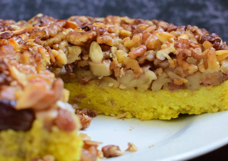 Easiest Way to Cook Yummy Vegan, GF, Sugar Free Apple Tart