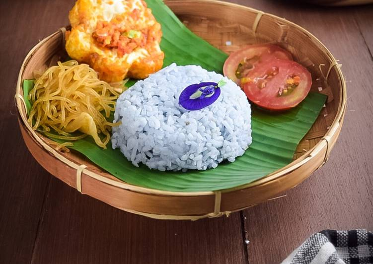 Nasi Uduk Rice Cooker Bunga Telang