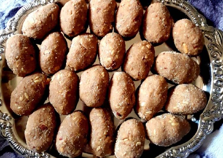Recipe of Super Quick Homemade Atta Laddu