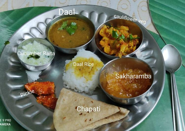 Maharashtrian Lunch