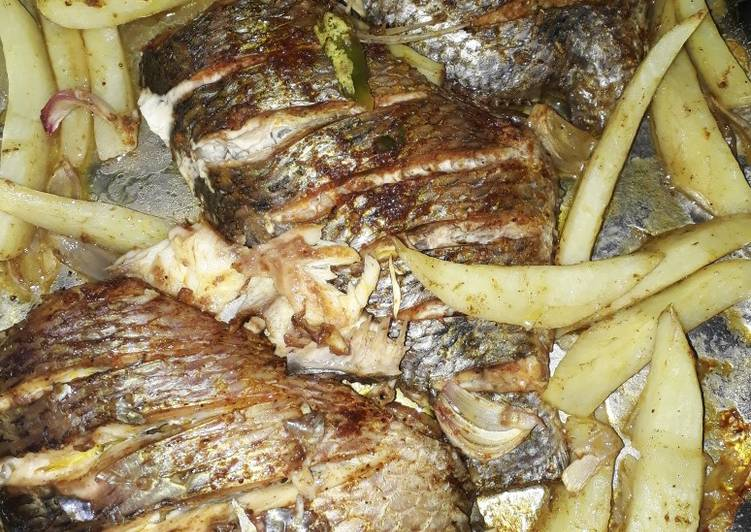 How to Make Super Quick Homemade Baked fish
