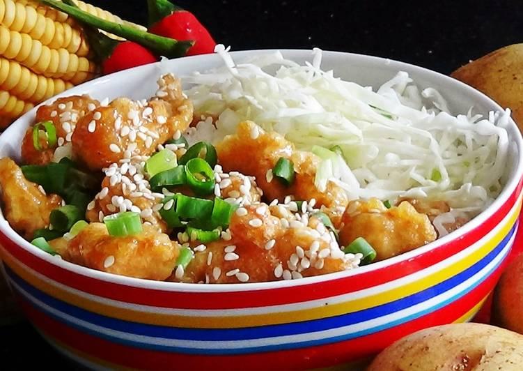 30 Minute Steps to Make Autumn Honey Lemon Chicken
