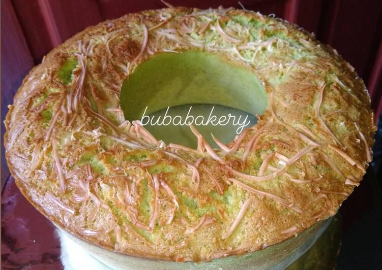 Cake Pandan Keju