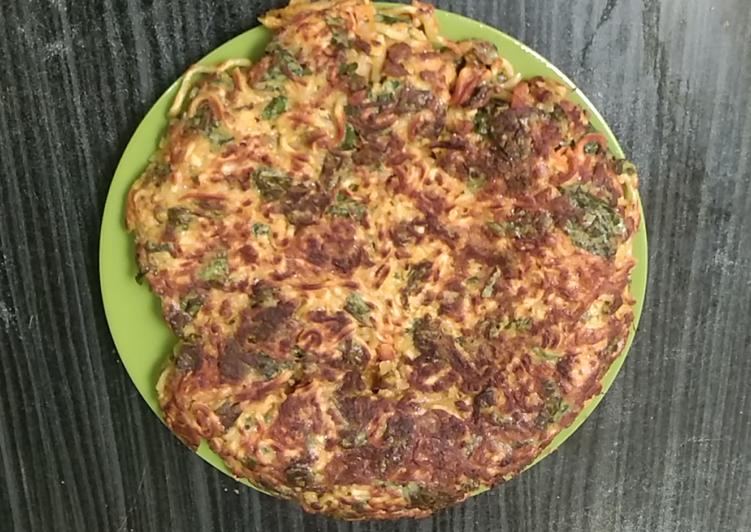 Pizza mie sayur