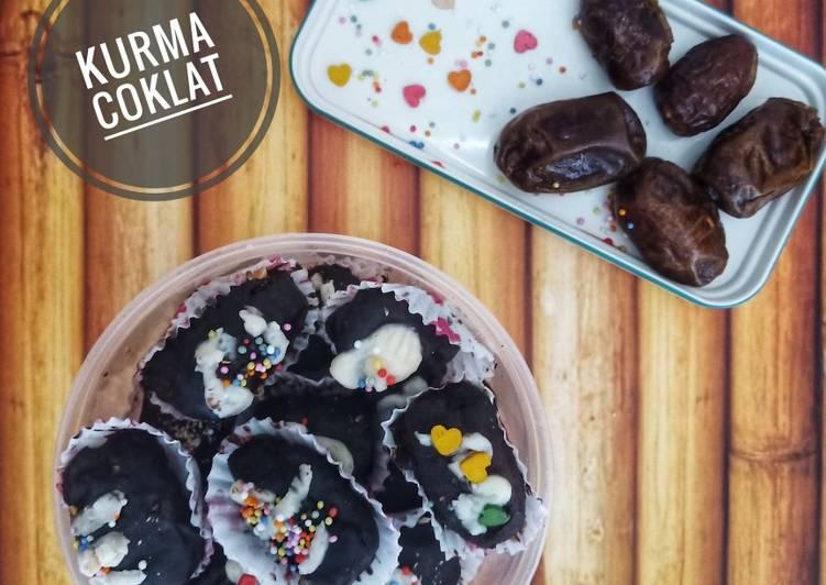 Langkah Mudah Untuk Menyiapkan Kurma Coklat Kurcok Isi Keju Selai Coklat Kacang Mete Enak Resep Dapur Indonesia