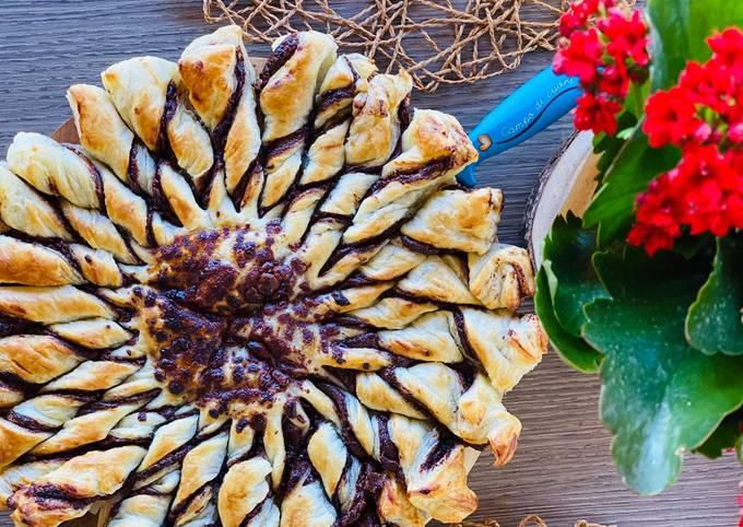 Torta Girasole alla Nutella