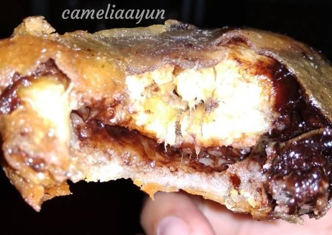 #10 Pisang coklat keju