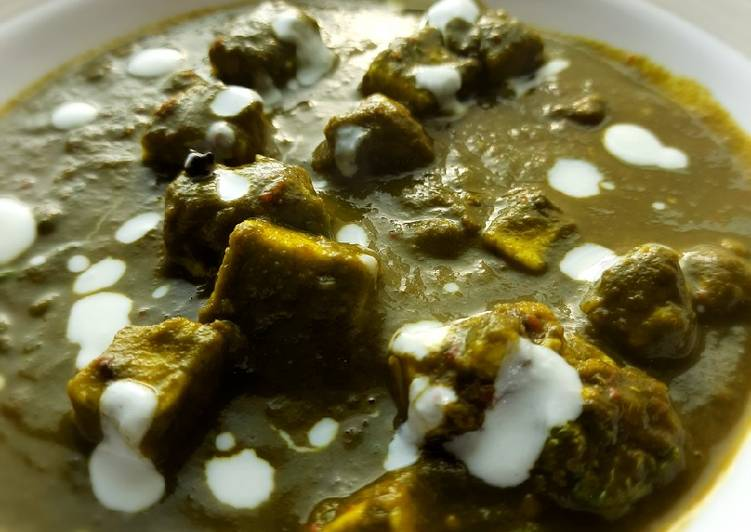 Step-by-Step Guide to Make Quick Palak paneer