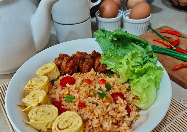 Nasi Goreng Telur Pedas