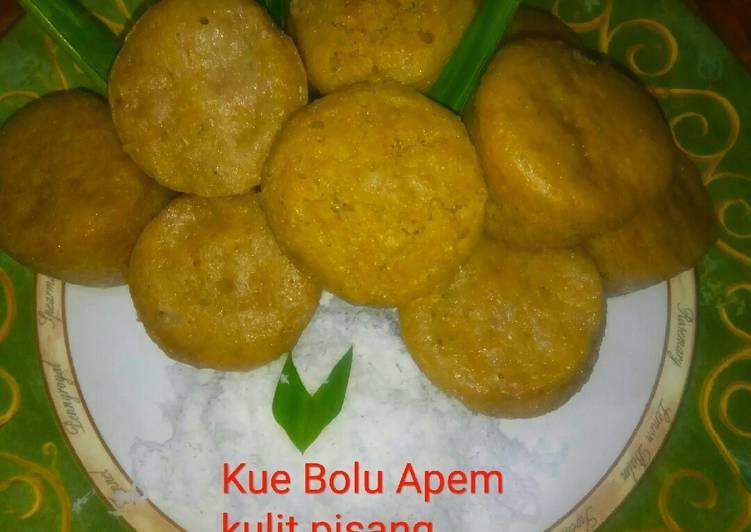 Bolu Apem kulit pisang - cookandrecipe.com