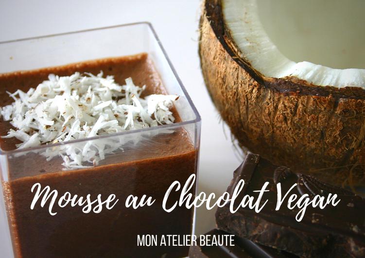 Comment Faire Des Mousse au chocolat vegan - sans oeuf!