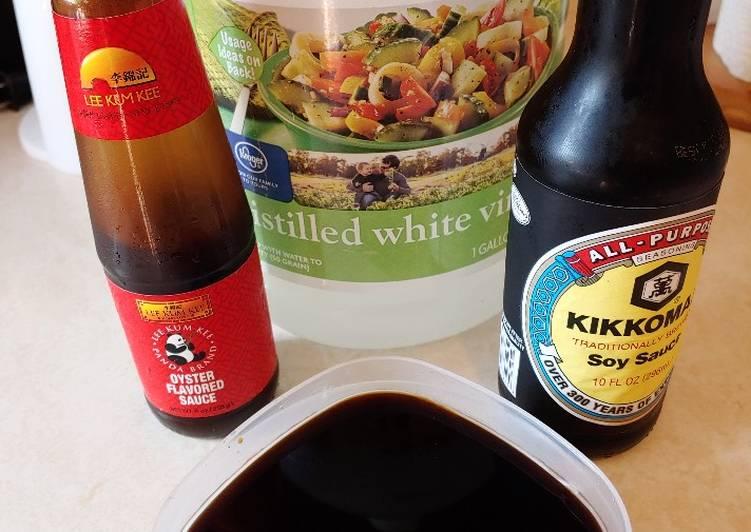 Ken's Simple Chinese Wonton/Dumpling Sauce