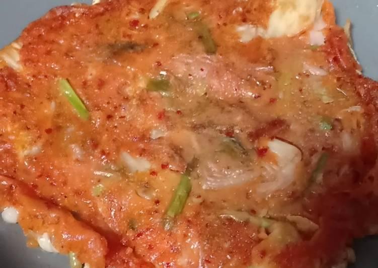 Resep Kimchi pancake murah
