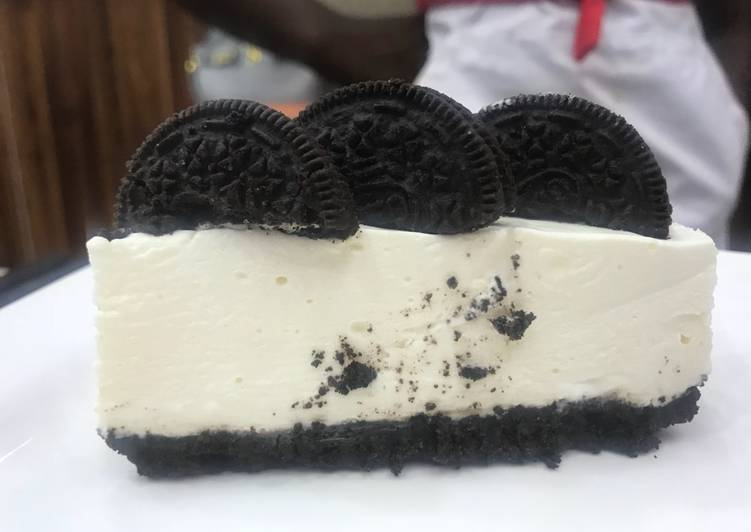 Yummy No Bake Oreo Cheesecake