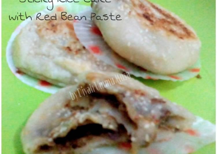 Ketan Panggang Teflon Isi Kacang Merah (Bukkumi) mirip Onde2 Simple & minim minyak