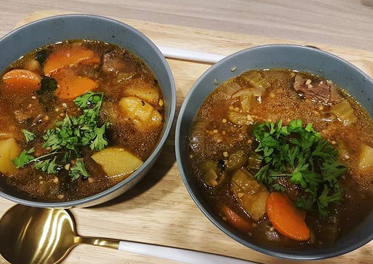 Step-by-Step Guide to Prepare Quick Beef stew with stout