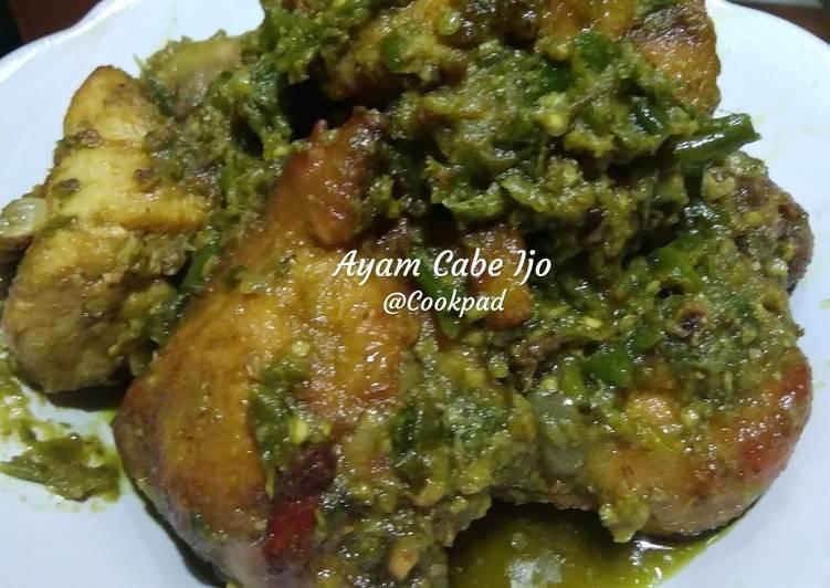 Ayam Lado Mudo/Ayam Cabe Ijo