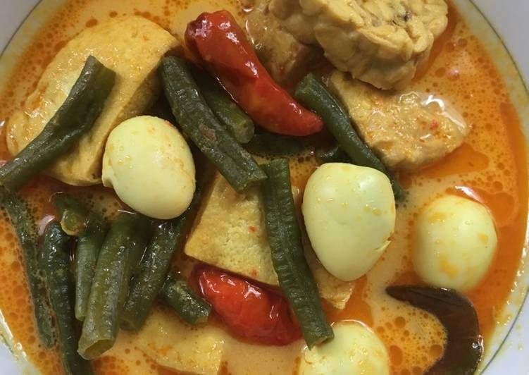 resep gulai telur campur kacang panjang gulai lemak telur masin azie kitchen penjelasan Resepi Gulai Nangka Azie Kitchen Enak dan Mudah
