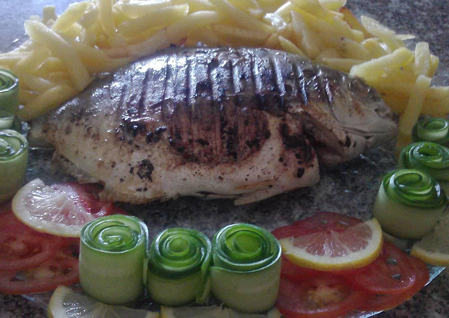 рыба на сковороде гриль рецепты с фото зайка поздравления днем