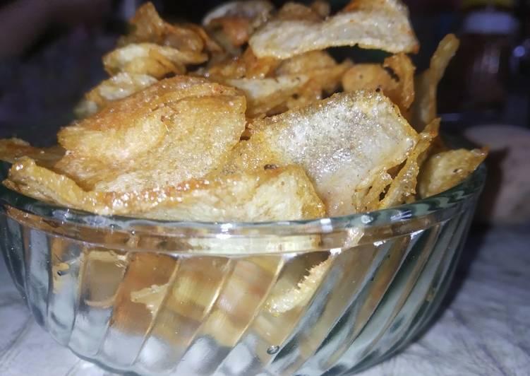 Simple Way to Make Super Quick Homemade Crispy Potato Chips