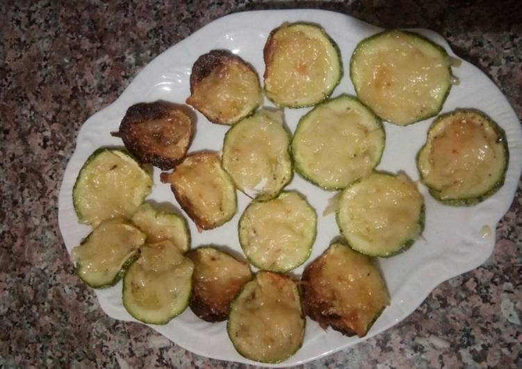 Courgette au fromage
