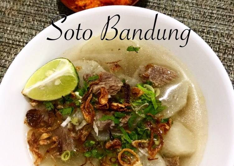 Soto Bandung / Soto Lobak