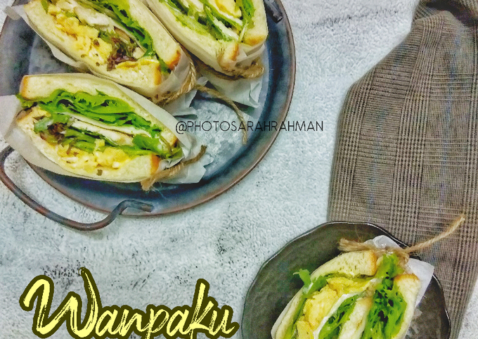 Wanpaku Ayam Grill Scrambled Eggs