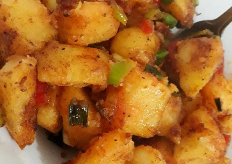 Hot potato,EASY to make!