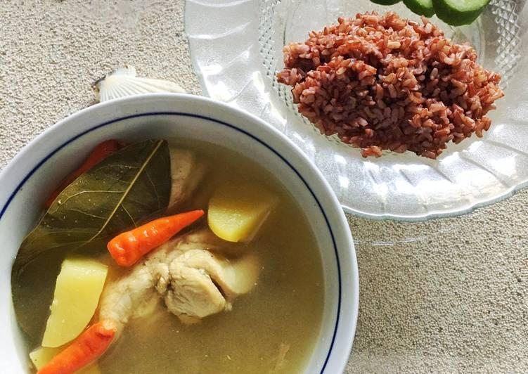 Opor Ayam diet tanpa santan