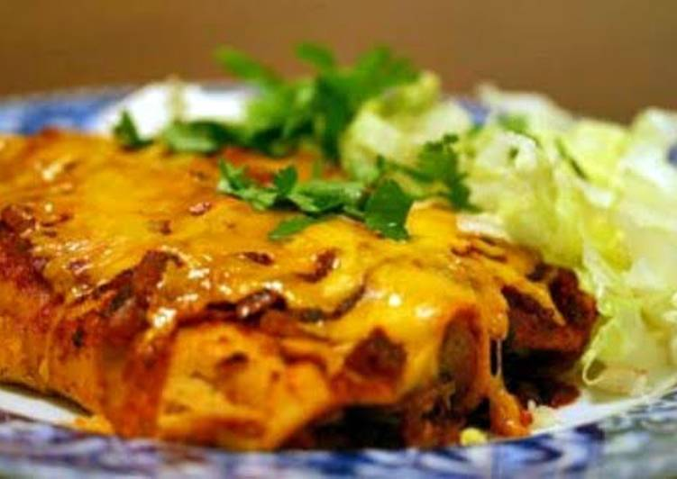 spicy enchilada pie