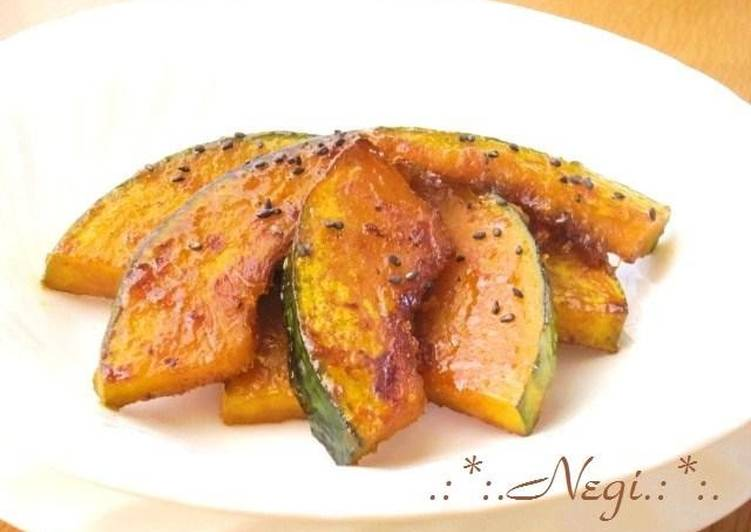 Easiest Way to Prepare Super Quick Homemade Daigaku-imo Style Sweet and Sour Kabocha Squash