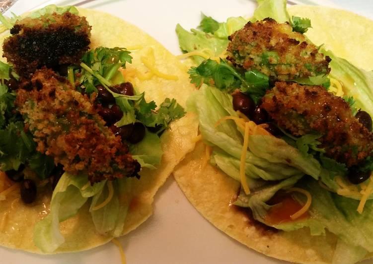 30 Minute Recipe of Summer Panko Baked Avocado tacos