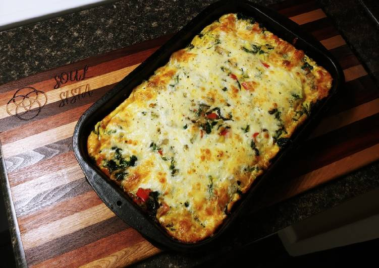 Recipe: Delicious Breakfast Frittata