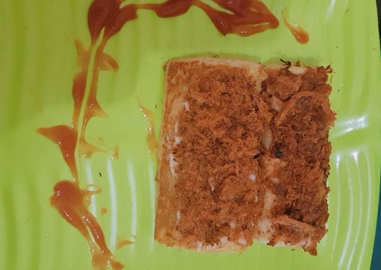 Sandwich gulung abon