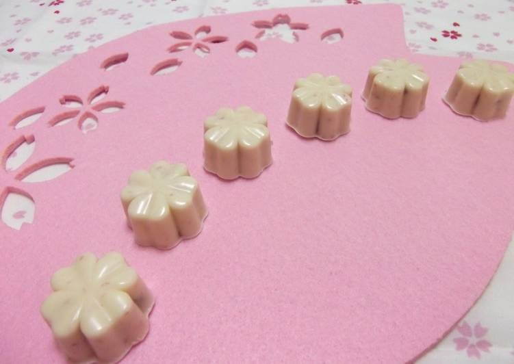 Simple Way to Make Speedy Sakura Mochi Chocolate
