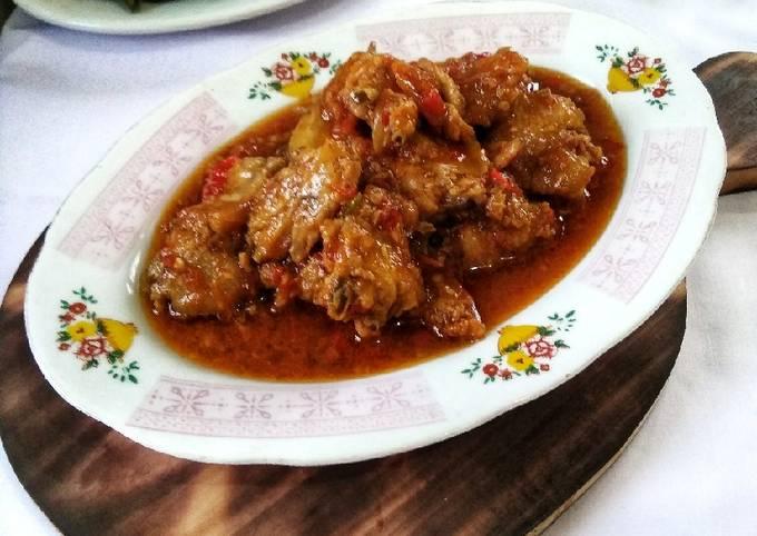 Cara memasak Rica-rica ayam yang sedap dan Mudah Dibuat