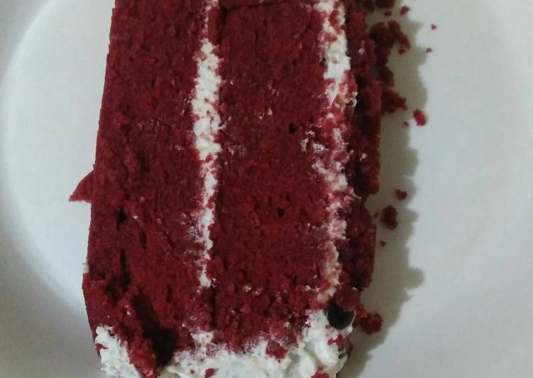 Cara Termudah Untuk Memasak Berselera Red Velvet Cake Ultah Kukus
