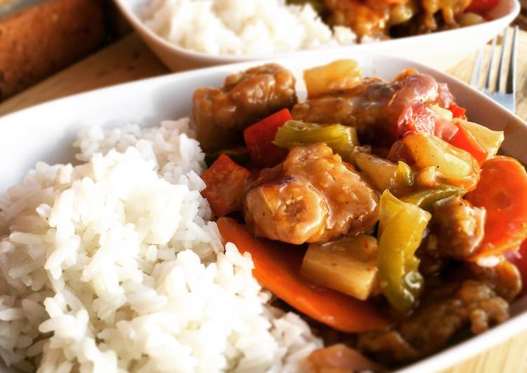 Simple Way to Prepare Favorite Sweet & Sour Pork