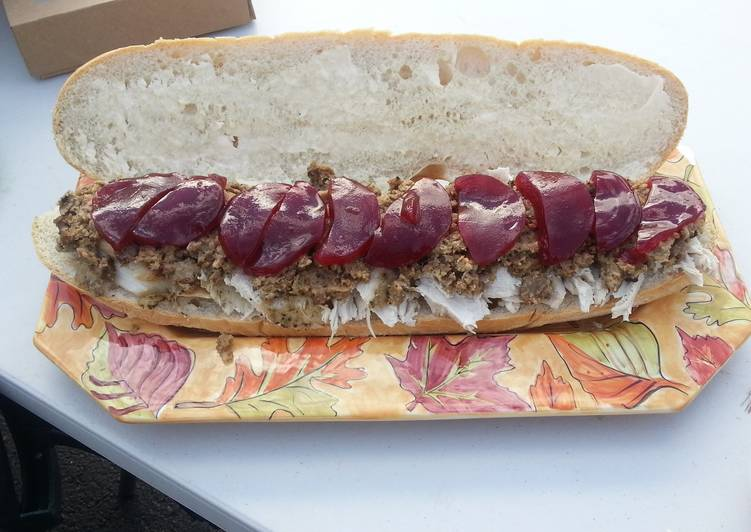 Recipe of Any-night-of-the-week Turkey Gobbler sandwiches